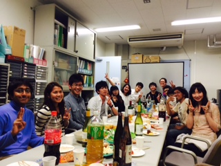 2014welcome party